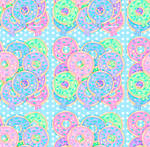 Sugar Glazed Sweets Background