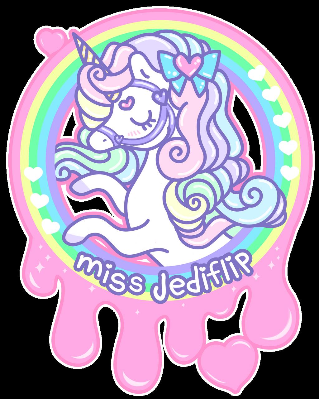 Rainbow Unicorn Logo by MissJediflip on DeviantArt