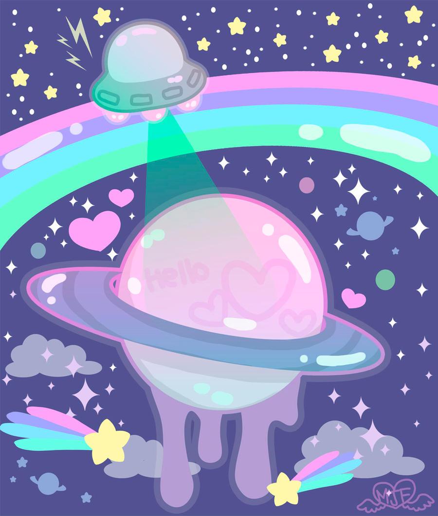 space girl cartoon wallpaper - photo #42