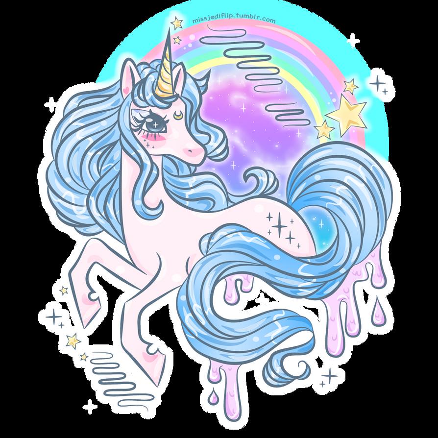Twilight Galaxy Unicorn By MissJediflip