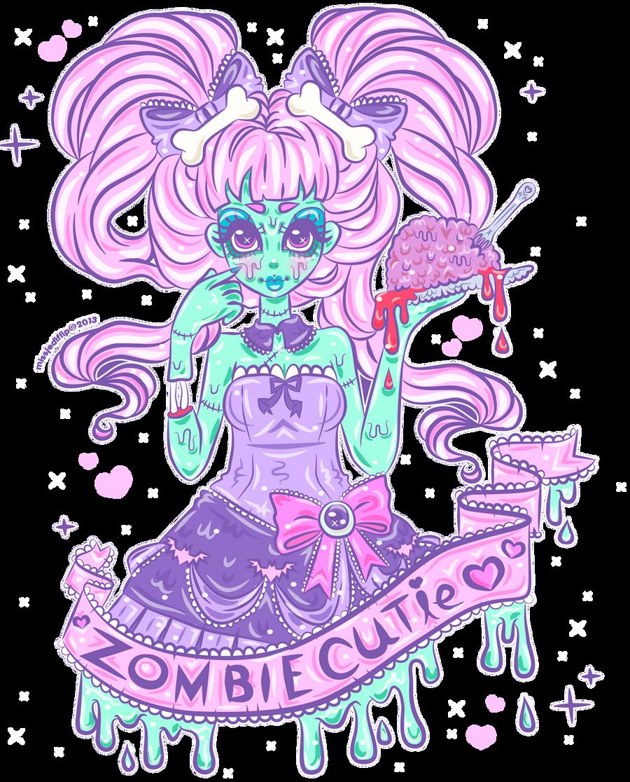 Zombie Cutie by MissJediflip