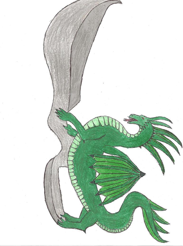 Dragon dagger color by rubyparker93 on DeviantArt