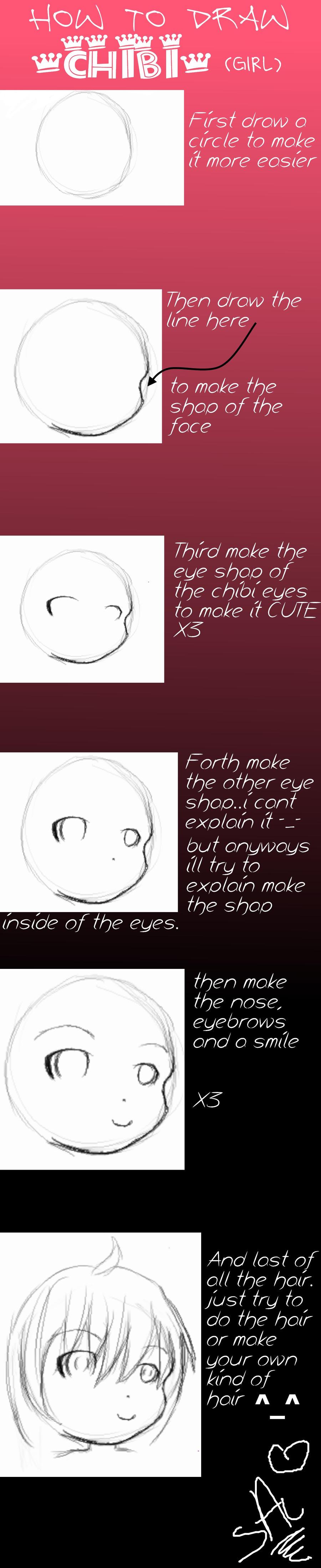 Sonamyanimeluver How To Draw Chibi Girl By Sonamyanimeluver