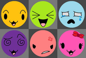 Faces by LuckyPenny13