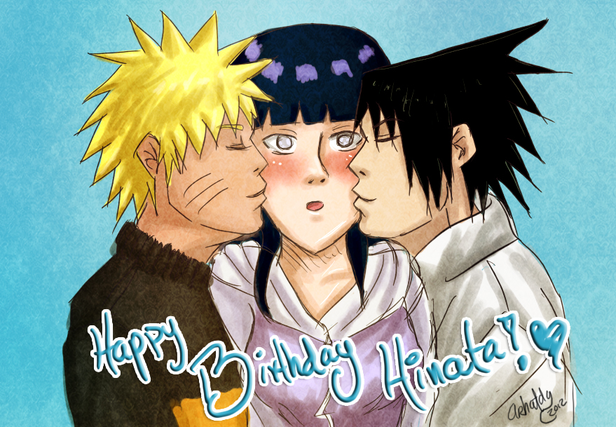 Happy Birthday Hinata by Arhatdy