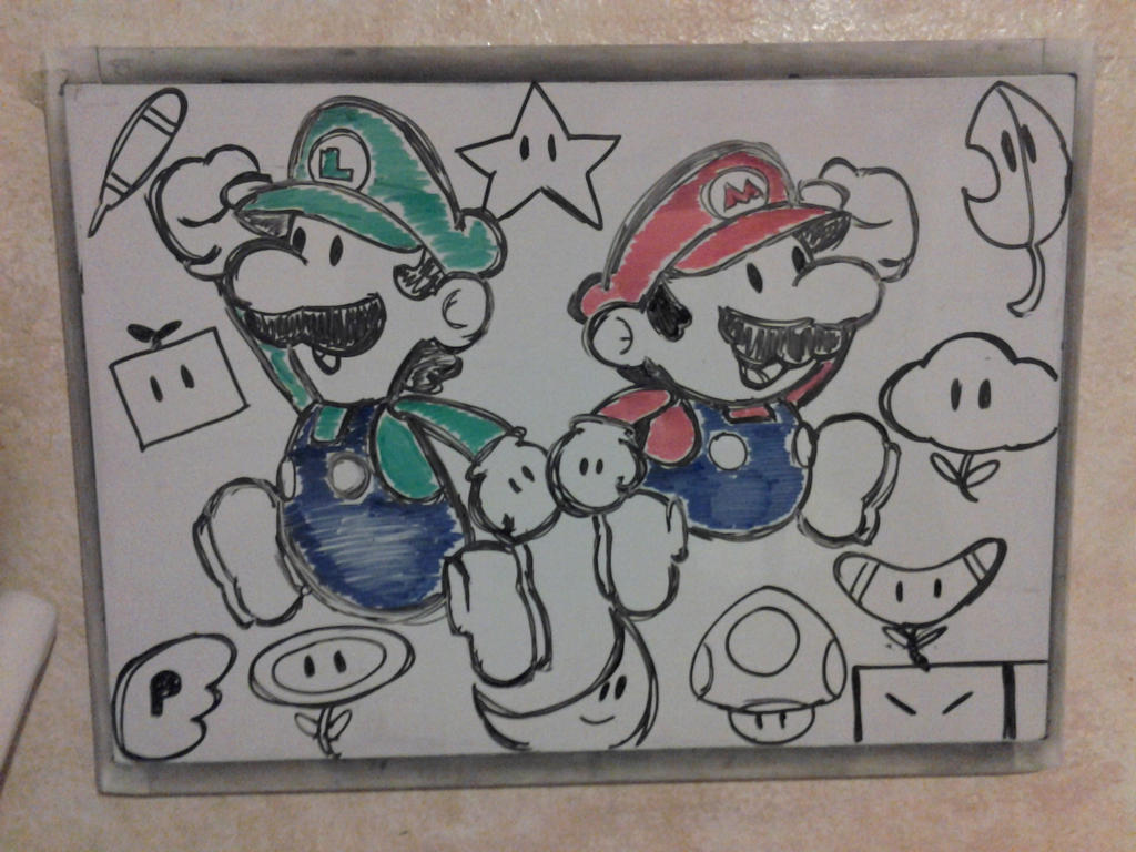 Dry erase board drawing 3 by ycanary on deviantart for Stuff to draw on a whiteboard
