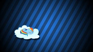 Napping with Rainbow
