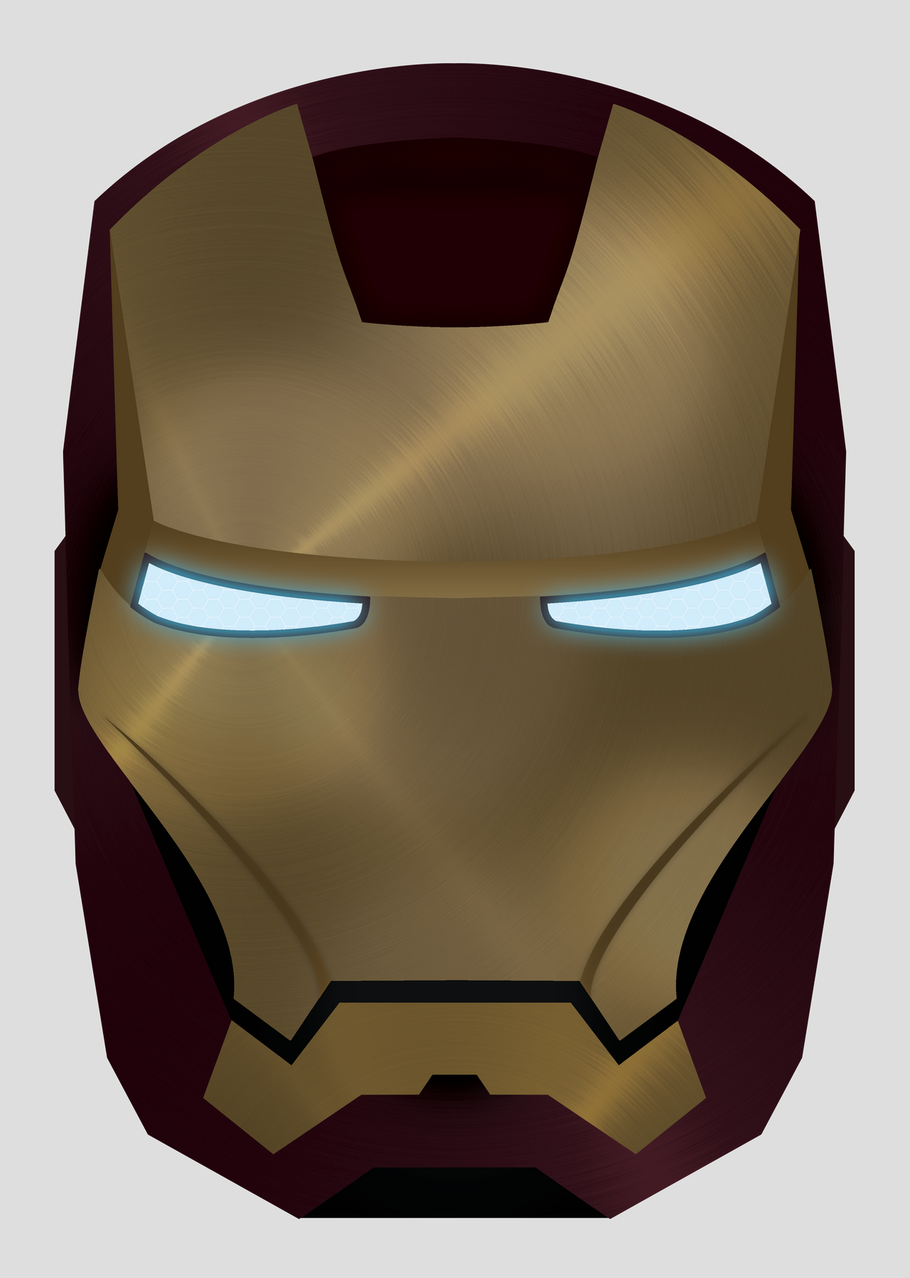 Displaying 17> Images For - Iron Man Helmet Front View Drawing...