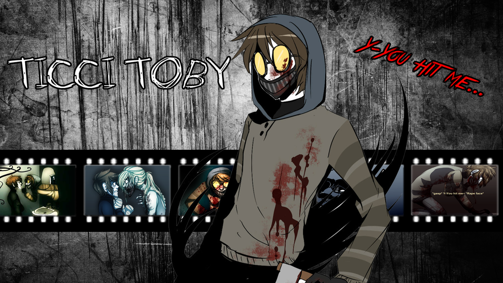 Creepypasta Ticci Toby X Reader Quotev Hd Coloring Pages Quotes
