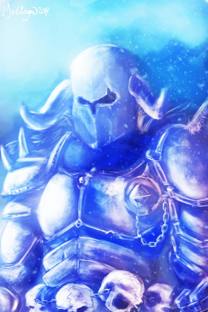 Warhammer - Chaos Warrior by MrElagan