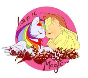 Love is Magic by Moonyyucenkio
