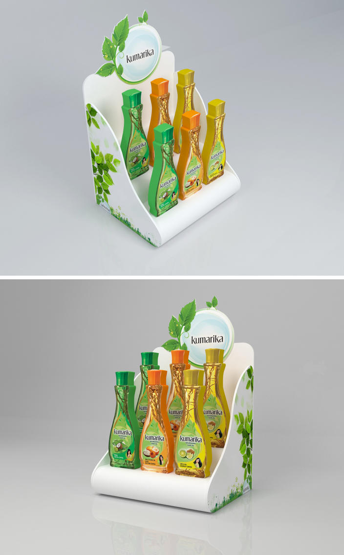 Table top product display - Kumarika Table Top Product Display By Homayon Kabir Khokon