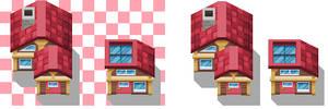 Hoenn Petalburg city Houses by CNickC