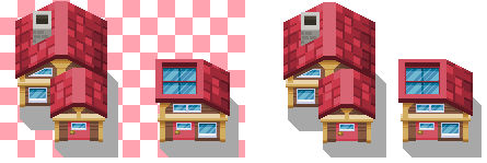 Hoenn Petalburg city Houses