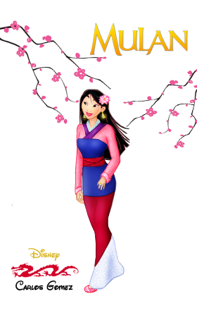Fa Mulan Disney Doll by krlozaguilera