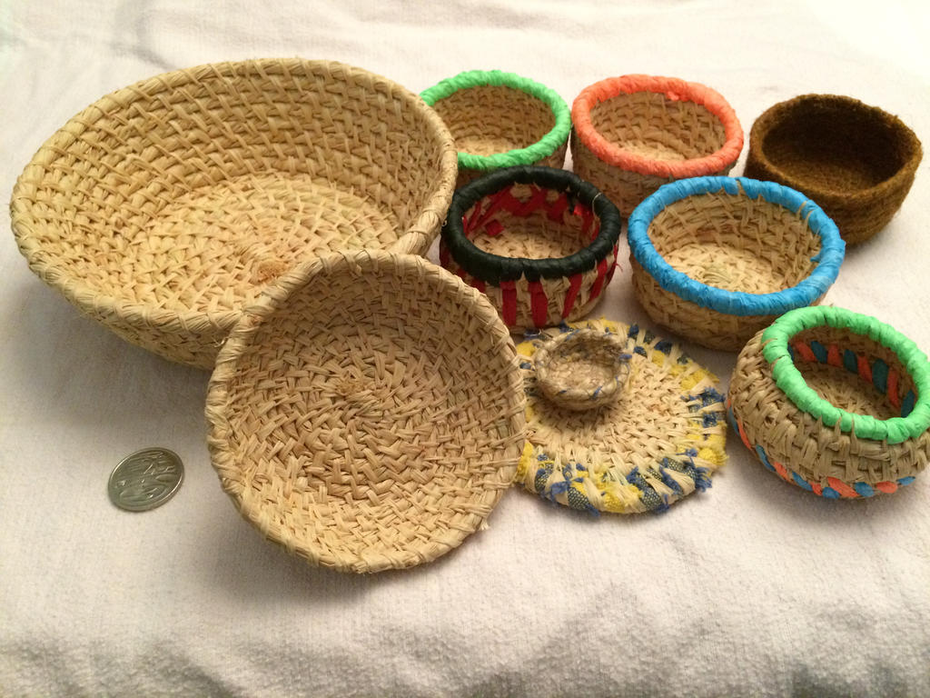 Hand Coiled Baskets by Rylas92