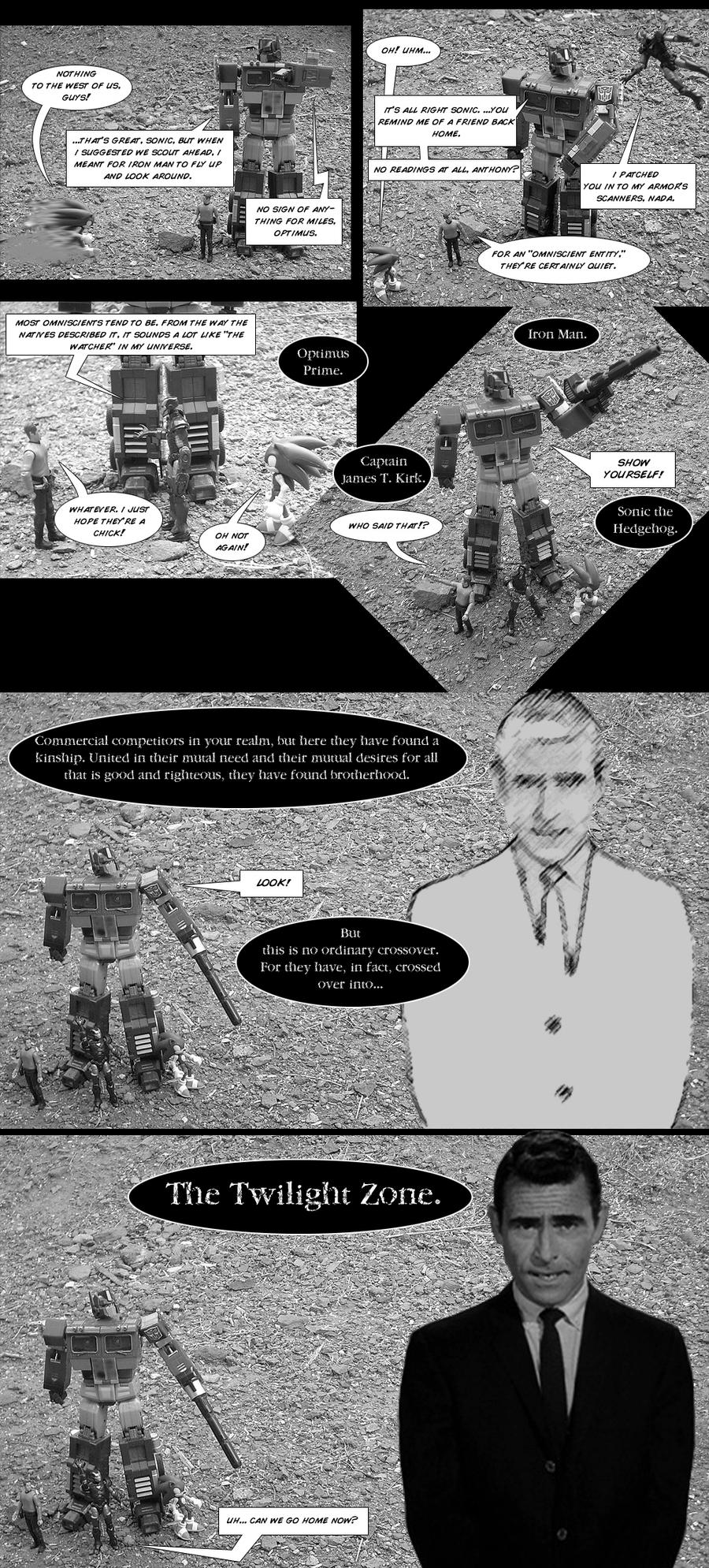 A Zombie-Free Mega-Crossover by JZLobo