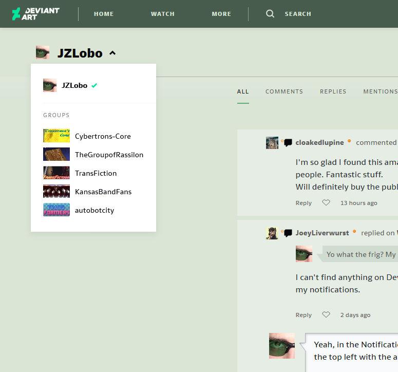 Screenshot 2020-07-20 DeviantArt - Discover The La