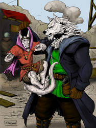 A Gunslinger and A Rogue
