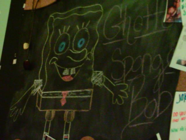 how to draw ghetto spongebob
