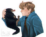 Magizoologist and his Niffler