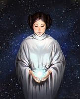 She is one with The Force now by Fennethianell