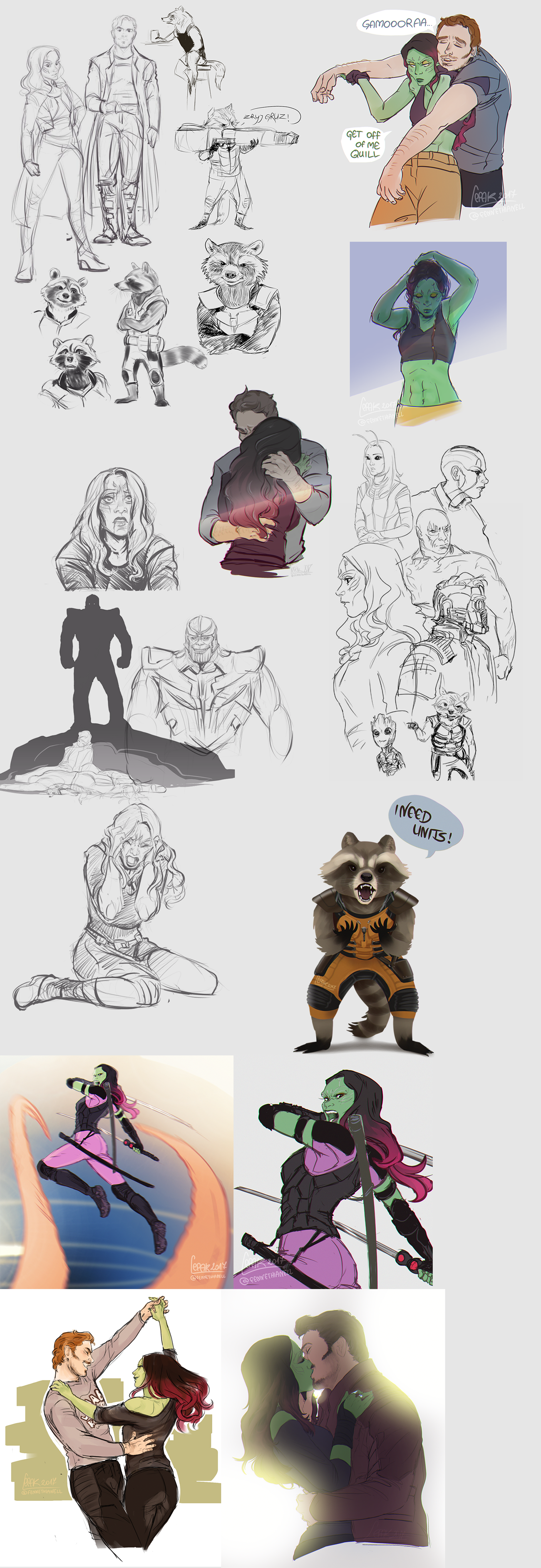 GotG Dump by Fennethianell on DeviantArt