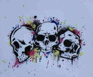 skulls by dize13579