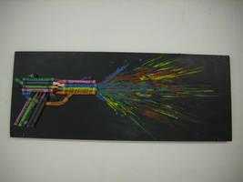 crayon gun