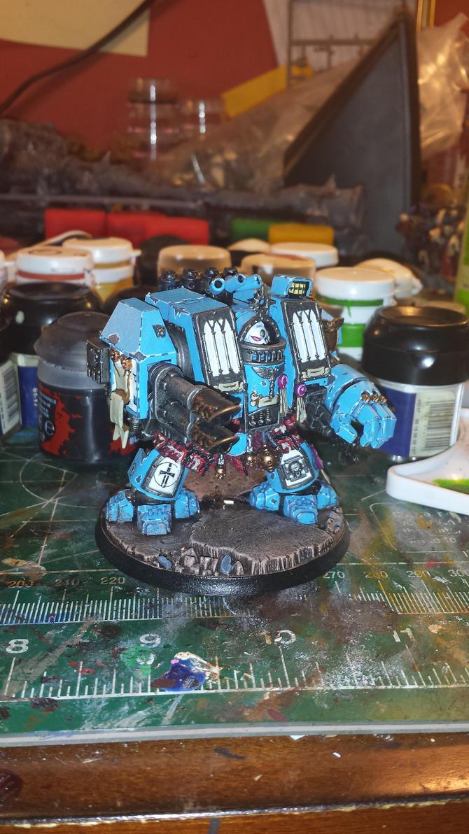 Warsworn Dreadnought by TreyzillasaurusRex