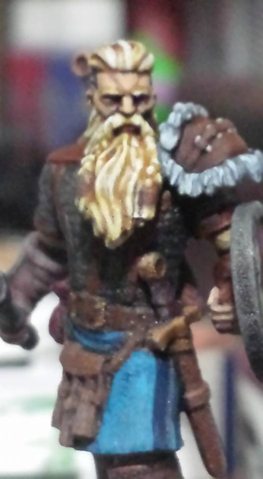 Bjorn Ironheart (the mini!) by TreyzillasaurusRex