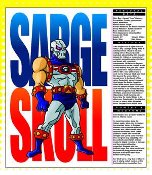 Sarge Skull