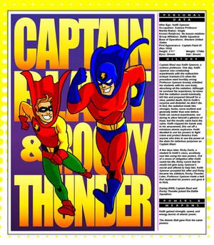 Captain Blast and Rocky Thunder
