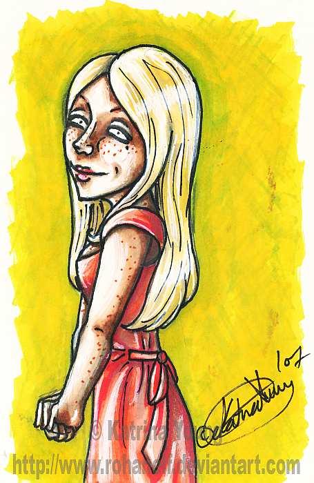 Victoire Weasley - HP SPOILER by RohanElf