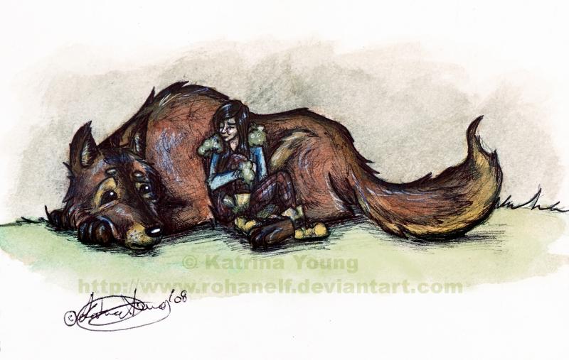 Werewolf Sofa by RohanElf