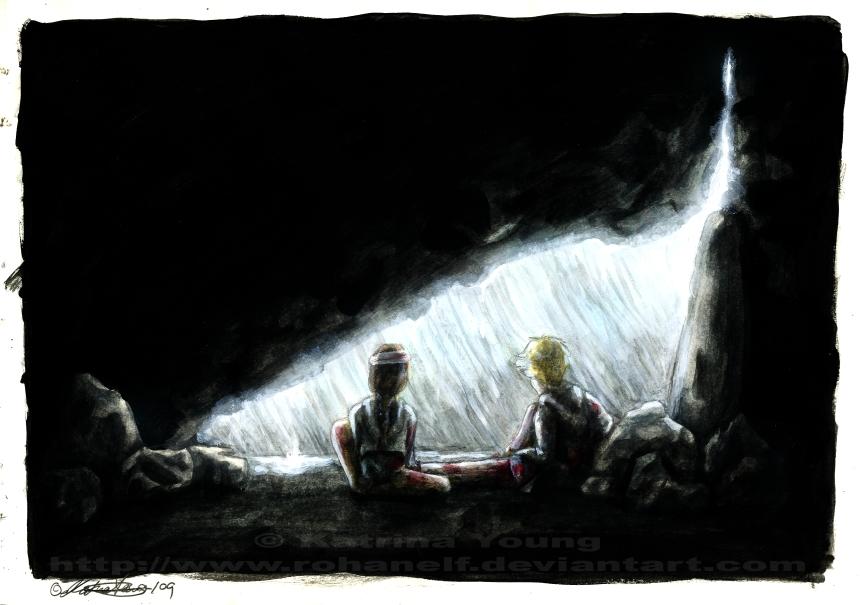 hunger games peeta. Peeta and Katniss recover from