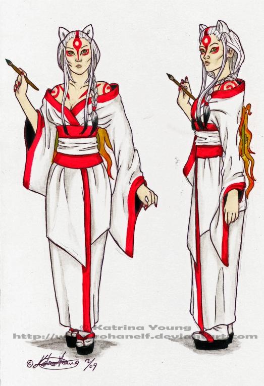 Human Amaterasu Design by RohanElf