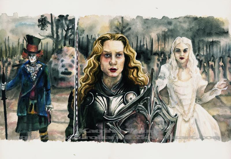 Alice Watercolour by RohanElf