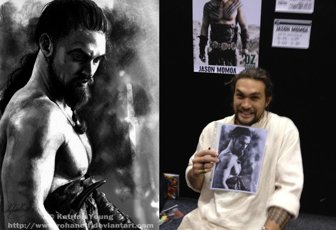 Drogo meets Drogo by RohanElf