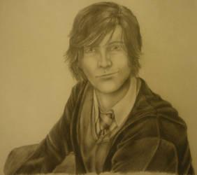 16yr old Sirius Black by KatArtIllustrations