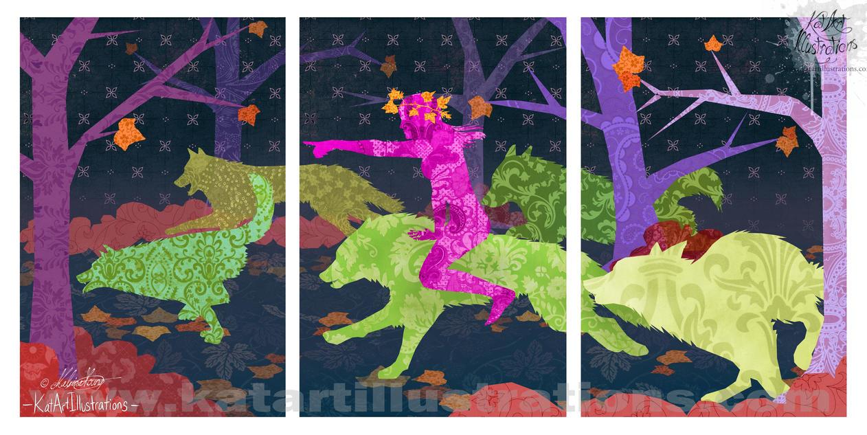 Autumn Hunt by RohanElf