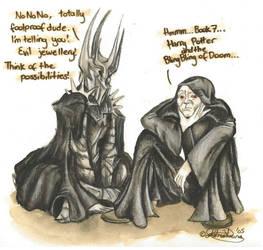 Evil Dark Lords Swap Notes by RohanElf