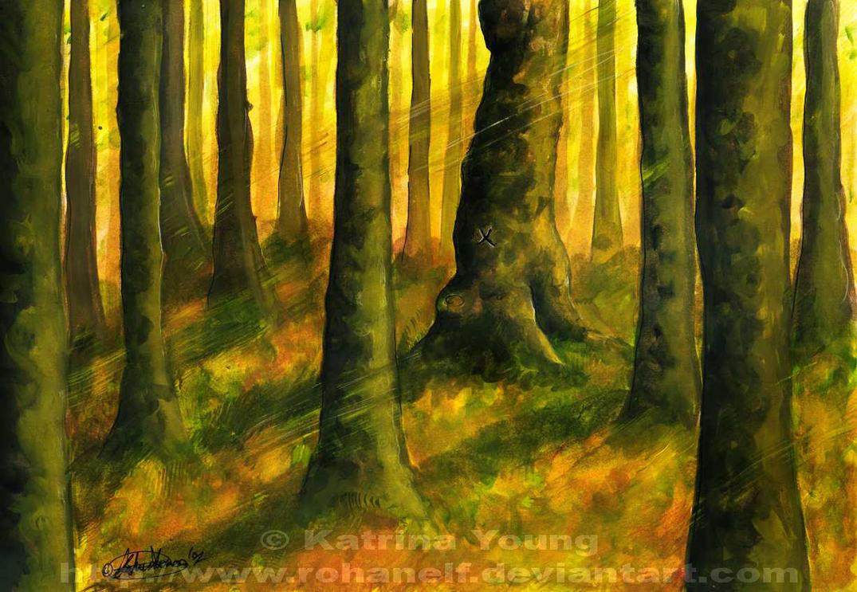 Mad-Eye's Tree - HP SPOILER by RohanElf