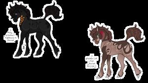 Cute Spooky Foals