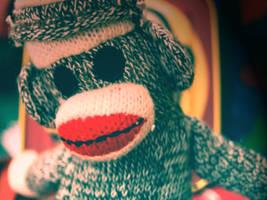 Sock Monkey by QUAKEBEAT