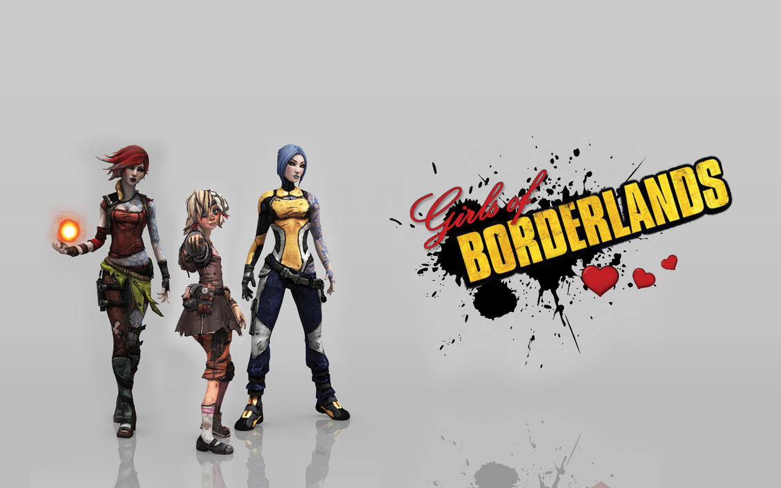 Girls of Borderlands by Daidantai