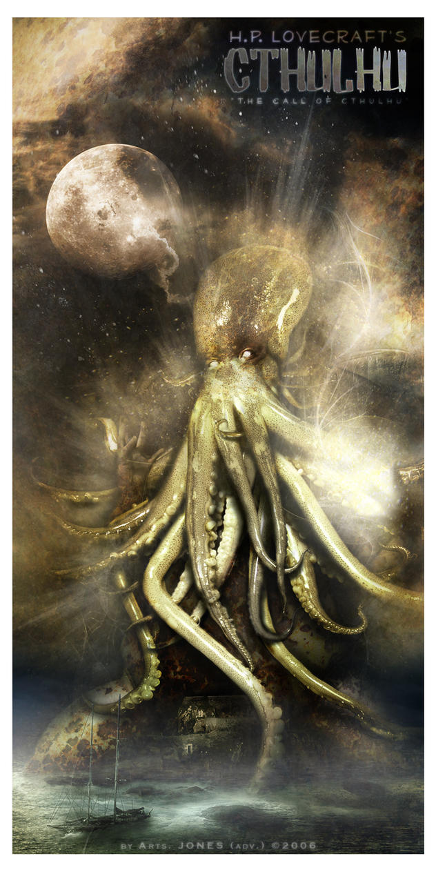 HP Lovecraft's CTHULHU by AjonesA