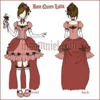 Rose Queen Lolita Design