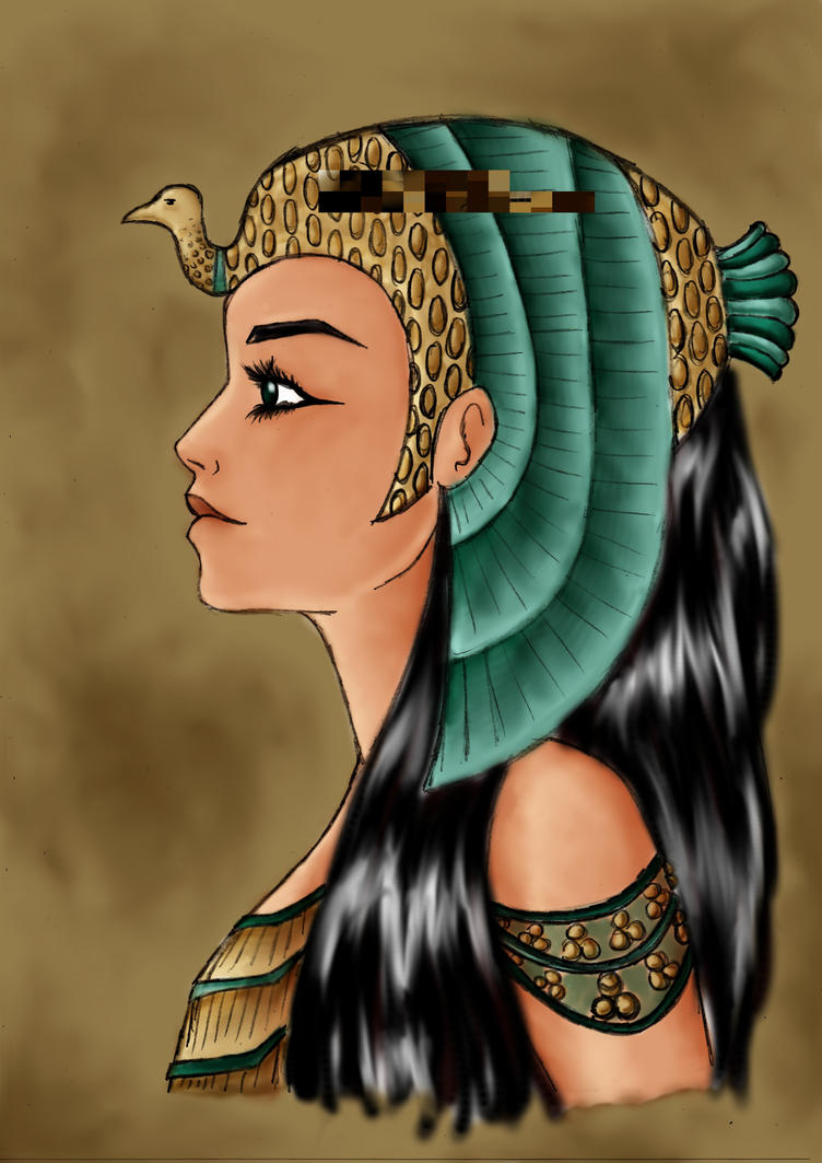 egyptian queen drawing - photo #19
