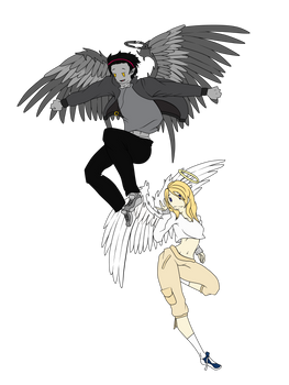 Fallen And Angel Adoptables 2 Closed By Kicho Keynote On Deviantart